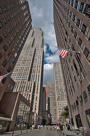 Rockefeller Center HDR