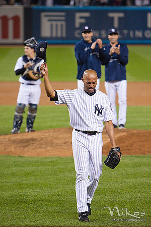 Mariano Rivera's last game